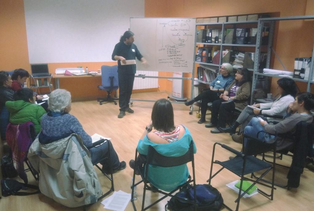 curso con AAMOC Madrid en SETEM Hego Haizea