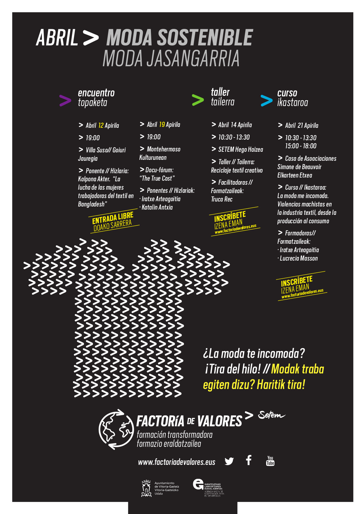 abril textil factoria de valores