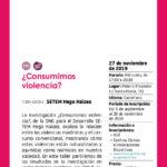 taller sobre violencias machistas y consumo