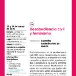 taller sobre antimilitarismo con perspectiva feminista